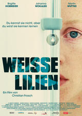 Weisse Lilien - Poster