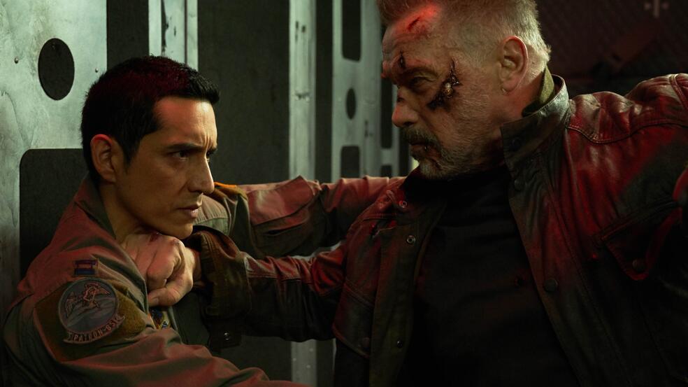 Terminator: Dark Fate mit Arnold Schwarzenegger
