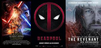 Top 25 der am meisten aufgerufenen Filme 2016