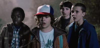 Die Jugendlichen aus Stranger Things