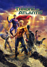 Justice League: Throne of Atlantis - Poster