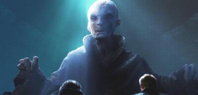 Snoke in Star Wars 7