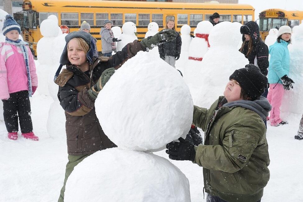 Billy und die Schneemänner - Ein Rekord für die Ewigkeit
