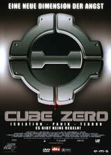 Cube Zero - Poster