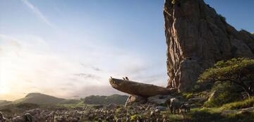 Der König der Löwen: der animierte Königsfelsen im Remake