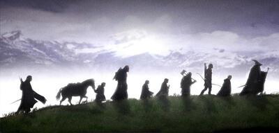 Der Herr der Ringe:Die neun Gefährten auf dem Weg nach Mordor