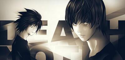 Bild aus der berühmten Anime-Serie Death Note