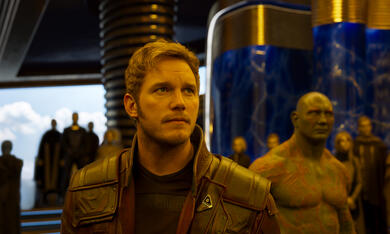 Guardians of the Galaxy Vol. 2 mit Chris Pratt und Dave Bautista - Bild 1