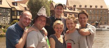Die Crew in Bamberg