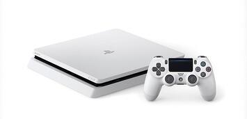 Bild zu:  Die PS4 Slim dient auch als vollwertiger Blu-ray-Player.