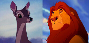 Bild zu:  Bambis Mutter und Simbas Vater