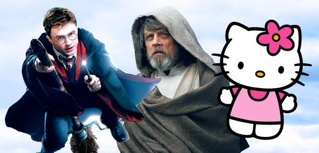 Harry Potter/Star Wars/Hello Kitty