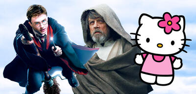 Harry Potter/Star Wars/Hello Kitty