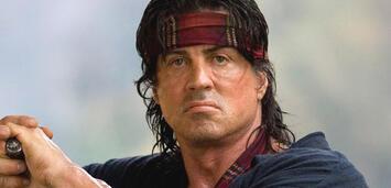Bild zu:  Sylvester Stallone als Rambo