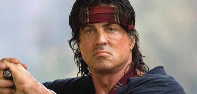 Sylvester Stallone als Rambo