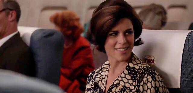 Neve Campbell in Mad Men