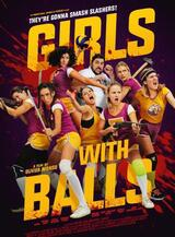 Girls with Balls - Poster