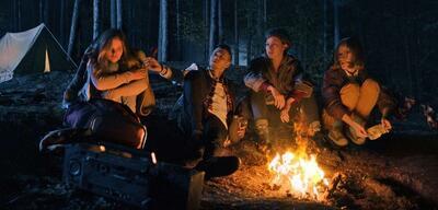 Lake Bodom: Vier Freunde allein im Wald
