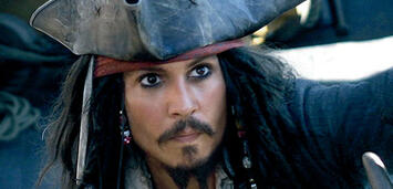 Bild zu:  Johnny Depp als Jack Sparrow