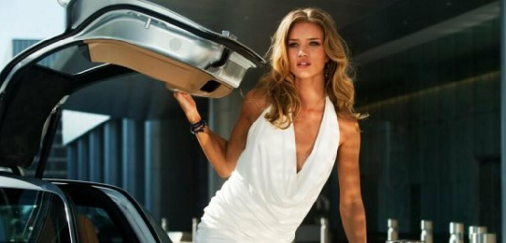 Rosie Huntington-Whiteley ist das neue Babe in Transformers 3