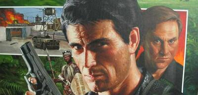 Cover eines Mack-Bolan-Romans