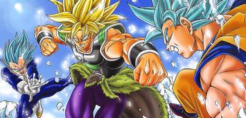 Bild zu:  Son-Goku & Vegeta vs. Broly