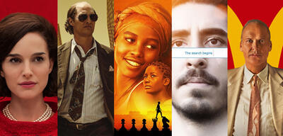 Filme nach wahren Geschichten: Jackie, Gold, Queen of Katwe, Lion, The Founder
