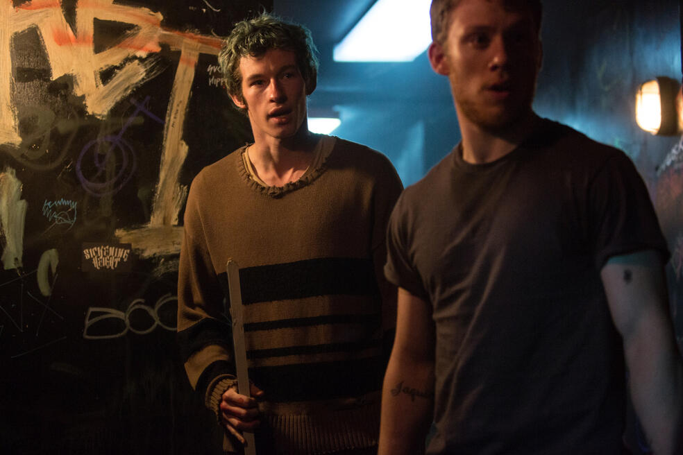 Green Room mit Callum Turner