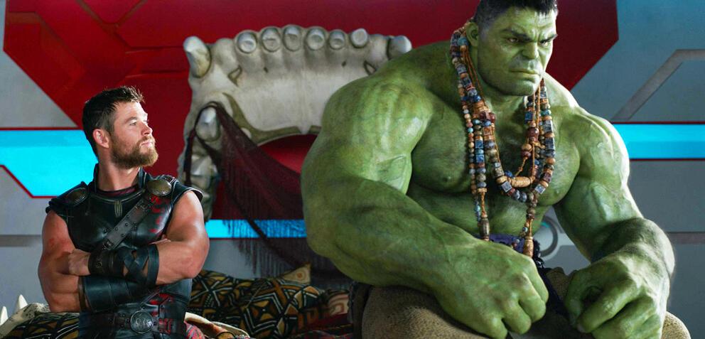 Thor und Hulk