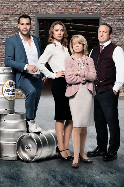 Bier Royal mit Robert Palfrader, Gisela Schneeberger, Lisa Maria Potthoff und Michael Klammer