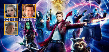 Bild zu:  Elizabeth Debicki, Bradley Cooper und Chris Pratt spielen mit in Guardians of the Galaxy Vol. 2
