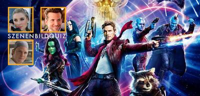 Elizabeth Debicki, Bradley Cooper und Chris Pratt spielen mit in Guardians of the Galaxy Vol. 2