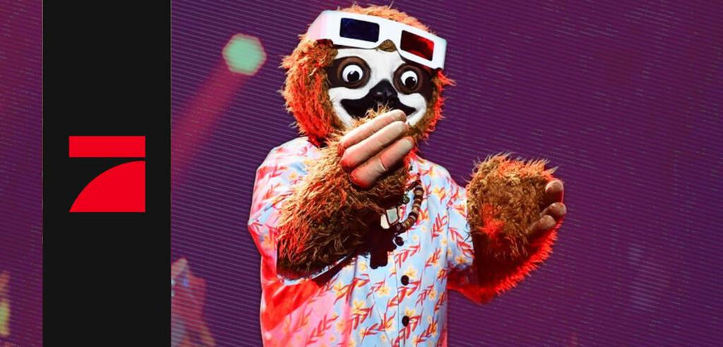 The Masked Singer mit dem großen Faultier