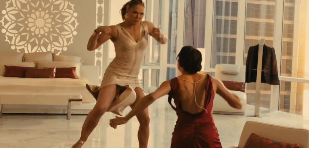 Ronda Rousey & Michelle Rodriguez