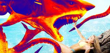 Bild zu:  Sharktopus