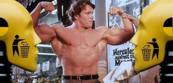 Bild zu:  Arnie zeigt, was er hat
