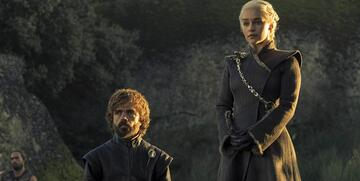 Daenerys und ihr Vertrauter Tyrion