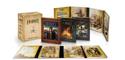 Die Hobbit-Trilogie in der Extended Edition.