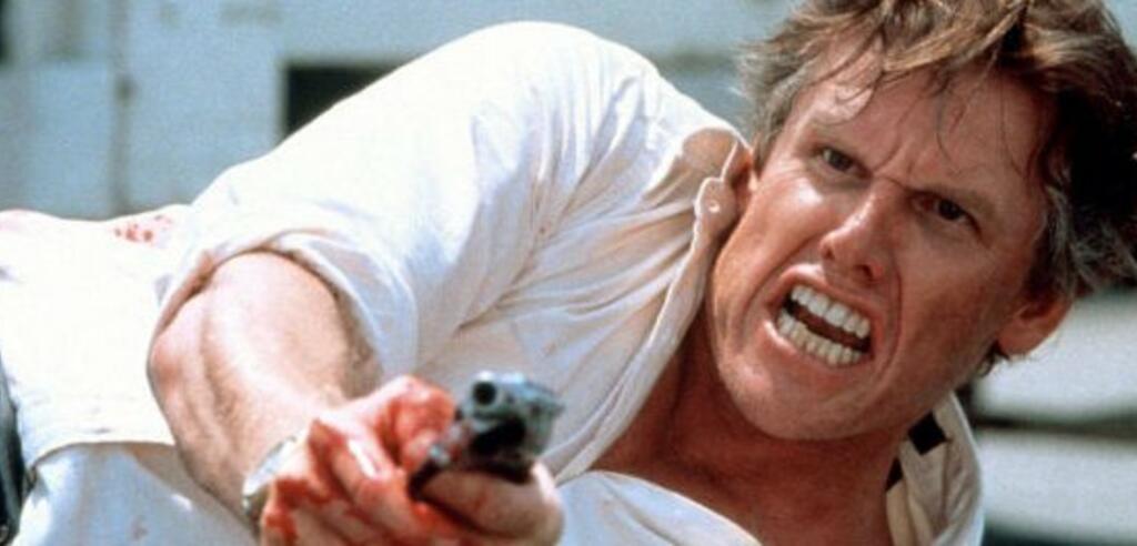 Gary Busey in Gefährliche Brandung