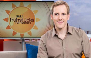 Der Typ vom Frühstücksfernsehen, Jan Hahn, dreht bald am Glücksrad.