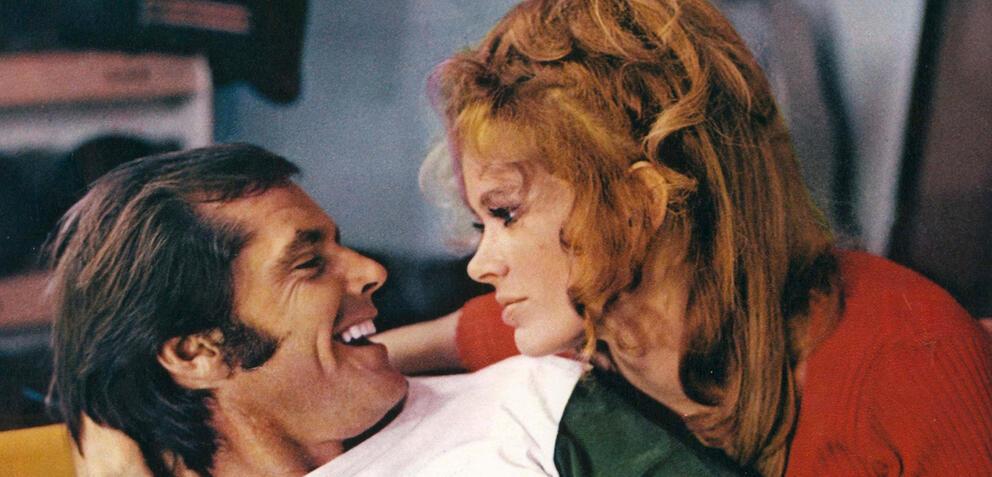 Jack Nicholson und Karen Black in Five Easy Pieces
