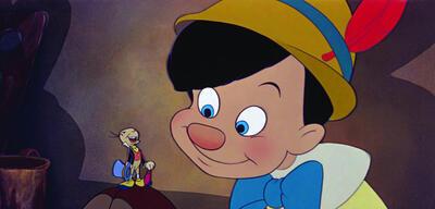 Jiminy Grille und Pinocchio in Pinocchio
