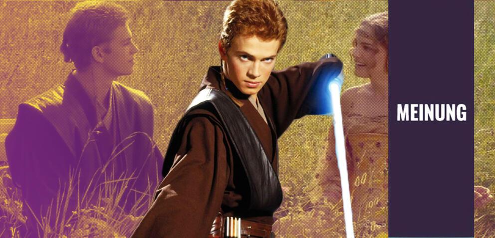 Anakin und Padme in Star Wars Episode 2