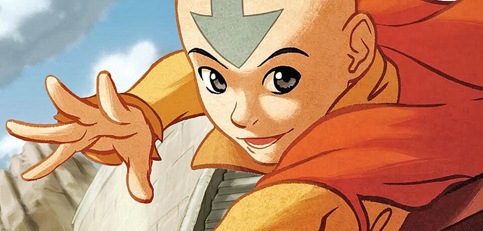Avatar: Der Herr der Elemente - Aang