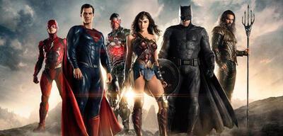 Die Justice League mit Ben Affleck und Henry Cavill