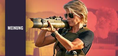 Terminator: Dark Fate mit Linda Hamilton