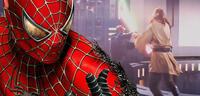 Bild zu:  Spider-Man schaut im Star Wars-Universum vorbei