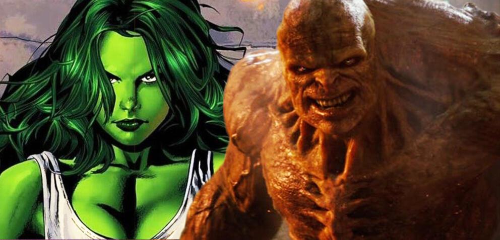 Die Comic-Version She-Hulk