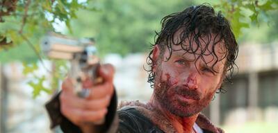 Mit Rick (Andrew Lincoln) ist in The Walking Dead nicht zu spaßen.
