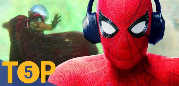 Mysterio und Spider-Man